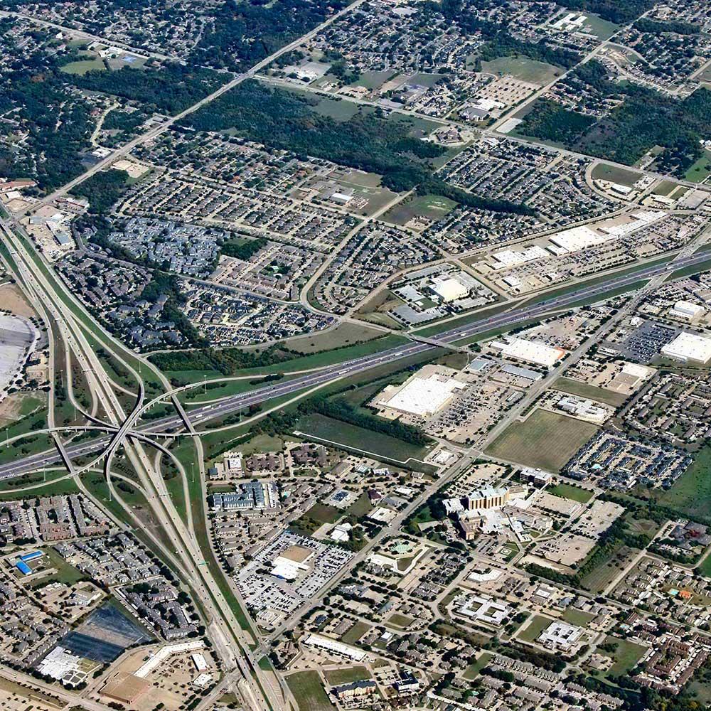 Aerial Photograph of DeSoto Texas