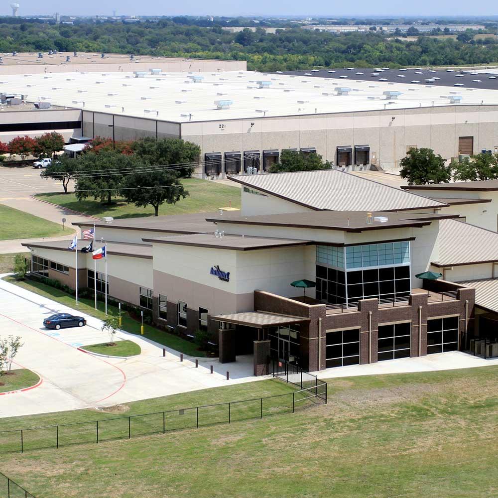 DeSoto Heliport Aerial Photograph